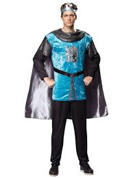 Tudor King by Mens Medieval Royal Knight Costume Tudor King Historical