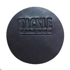 self adhesive leather patch tackle leather bass drum beater patch black