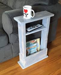coffee table skinny side table mini apartment decor small space