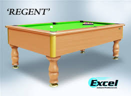 Slate Bed 7ft Excel Regent Slate Bed Domestic Pool Table Regent7