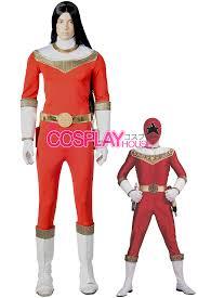 Power Ranger Halloween Costumes Power Rangers Zeo Red Zeo Ranger Cosplay Costume Version 01