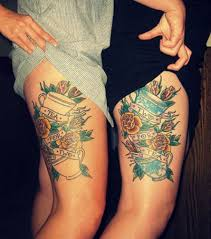 30 thigh tattoos that are sure to get attention