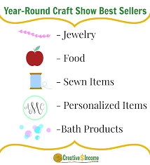 year round craft show best sellers creative income