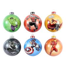 marvel the baubles ornaments merchoid