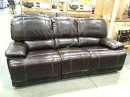 Power Recliner Sofa Leather Leather Costco Leather Power Reclining Sofa Cheers Clayton