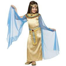 Egypt Halloween Costumes Childs Deluxe Cleopatra Costume Costumeish U2013 Cheap
