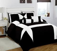 Black And White Home by 11 Piece King Jefferson Black And White Bed In A Bag W 600tc
