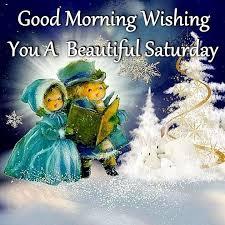 morning wishing you a beautiful saturday winter quote