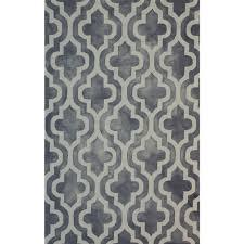 Cream And Grey Rug Cream And Grey Hand Tufted Geometric Wool Rug American Home