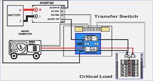 wiring diagram changeover switch generator controller wiring