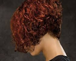 angled bob for curly hair short angled bob hairstyles for curly hair cool trendy short