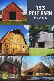 Hip Roof Barn by 153 Pole Barn Plans And Designs That You Can Actually Build