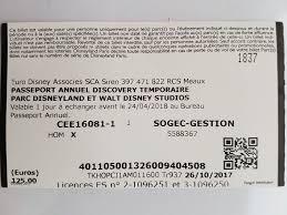 bureau passeport annuel disney telephone achetez pass annuel neuf revente cadeau annonce vente à plaisir
