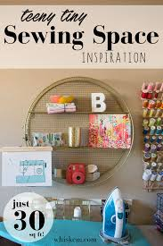 my super small sewing space u2022 bonnie and blithe