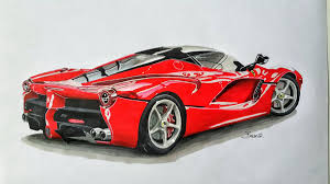 ferrari laferrari sketch search results for redcar draw to drive