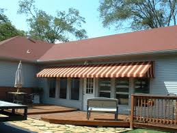 Fabric Awnings Lovable Canvas Awnings Patio Cover From Red Striped Canvas Fabric