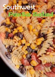 Mexican Pasta Salad Ok I Actually Made This But Cut Back On Spices Since It Was My