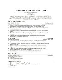 Free Customer Service Resume Samples by Customer Service Resume Template