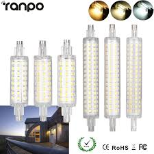 led flood light replacement r7s 78mm 118mm led flood light bulb 2835 smd 12w 16w replacement