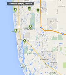 Sarasota Map How Ev Charging Station Networks Compare City To City Maps