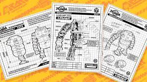 workshop blueprints arms a look at mechanica u0027s blueprints and her workshop nintendo