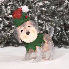 Christmas Outdoor Decorations Dog by
