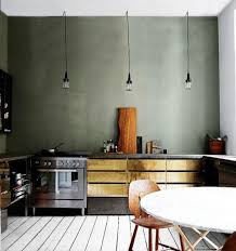 cuisine gris vert tendance deco le gris vert deco clem around the corner