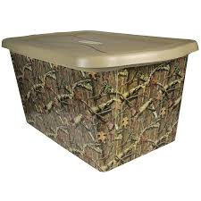 shop rubbermaid 14 gallon mossy oak tote at lowes com