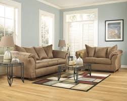 Ashley Leather Living Room Furniture The Darcy Collection From Ashley Furniture Living Room