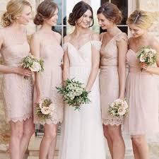 blush bridesmaid dress cap sleeve lace bridesmaid dress v neck bridesmaid dresses