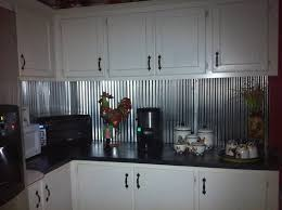 Interior  Backsplash Designs Subway Tile Vintage Country Kitchens - Corrugated metal backsplash