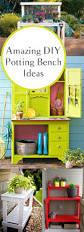 Plant Bench Plans - best 25 potting tables ideas on pinterest potting station