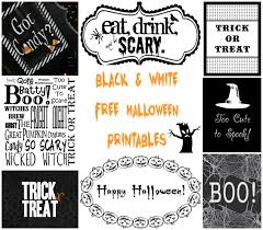 free black u0026 white halloween printables u2013 a to zebra celebrations