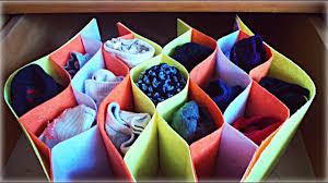 amazing idea organize your socks drawer organizer easy