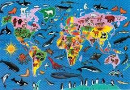 usa map jigsaw puzzle by hamilton grovely 2 animal world map jigsaw puzzle by hamilton grovely