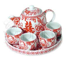 wedding tea wedding tea pot cups set wedding accessories shop