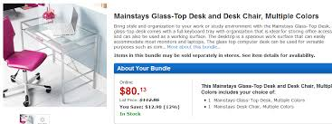 Mainstays Glass Top Desk by Mainstays U2013 Page 2 U2013 Walletup Com