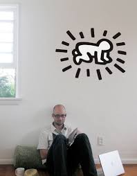 radiant baby wall sticker by keith haring giant wall stickers radiant baby wall sticker keith haring wall sticker wall decal main image