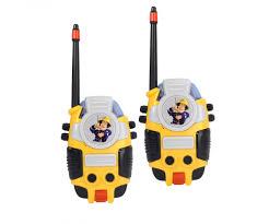 walkie talkie fireman sam fireman sam licenses brands