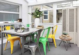 Tolix Dining Chairs Marais A Chair Vintage Delight With Modern Flair