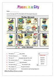 Esl Vocabulary Worksheets Places In A City Esl Worksheets Of The Day Pinterest English