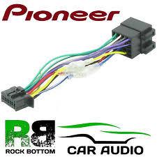 pioneer deh 1300mp wiring harness ebay