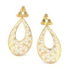gold earrings online 22k gold earrings online at best price caratlane