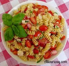 rotini with fresh lemon and grape tomatoes