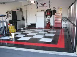 contemporary garage ideas chess floor design white refrigerator