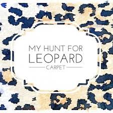 Leopard Runner Rug One Room Challenge Week 2 Leopard Carpet