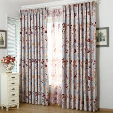 vintage bedroom curtains bedroom vintage nursery or kids room red leaf curtains