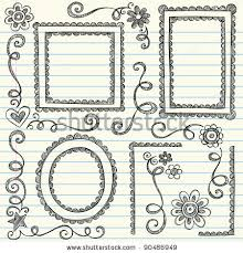 easy to draw border designs easy border designs to draw frames and