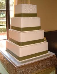 download square tiered wedding cakes wedding corners