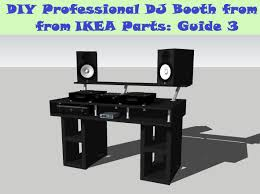 Diy Stand Up Desk Ikea by Guide Diy Dj Booth From Ikea Parts Build 3 Youtube